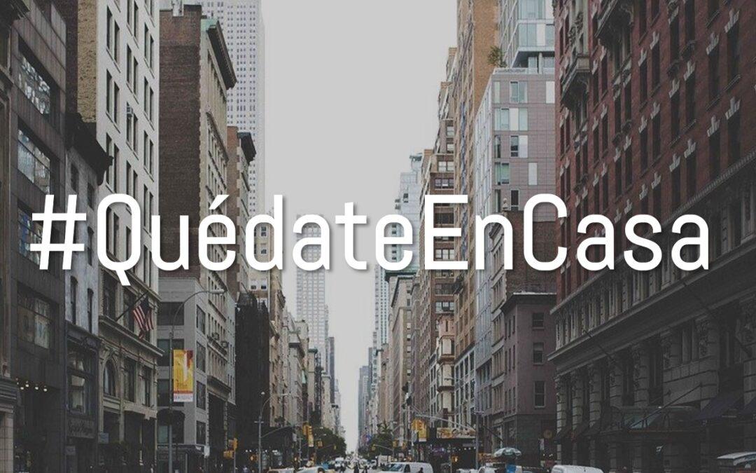 #QuédateEnCasa #Acubierto